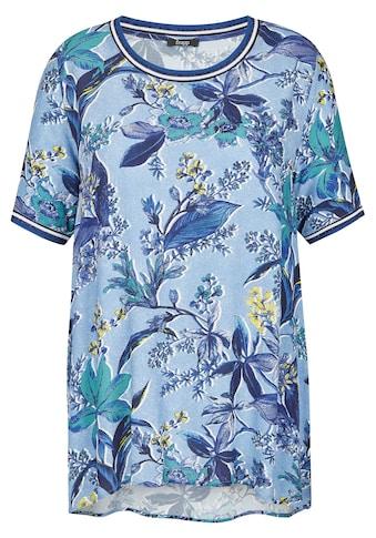 FRAPP Extravagante Bluse mit Blumen - Print kaufen
