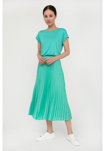 Finn Flare Jerseykleid, mit Plisseerockteil kaufen