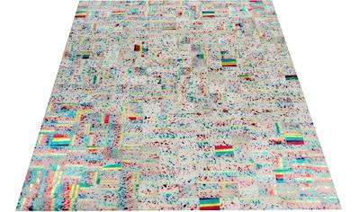 Lederteppich, »Carona«, Bruno Banani, rechteckig, Höhe 8 mm, handgewebt kaufen