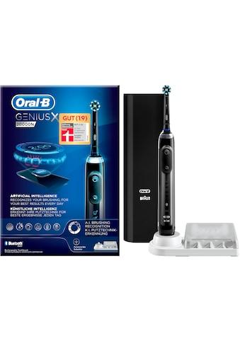 Oral B Elektrische Zahnbürste Genius X 20000N, Aufsteckbürsten: 1 Stk. kaufen
