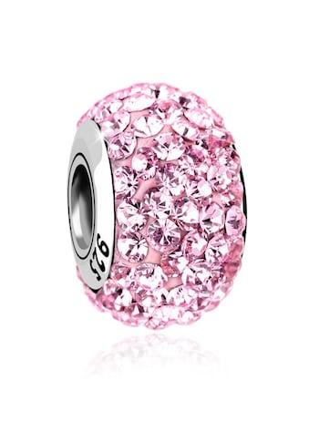 Nenalina Charm - Einhänger »Kugel Bead Violett Swarovski® Kristalle 925 Silber« kaufen