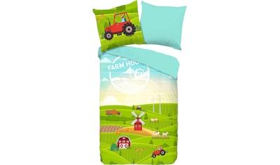 good morning Kinderbettwäsche »Pieter«, mit Bauernhof-Motiven kaufen