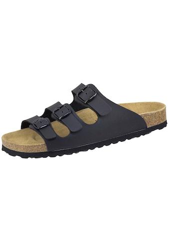 SALIHA Sandale »808713«, Bioline Pantolette schwarz kaufen