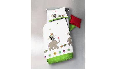 fleuresse Kinderbettwäsche »Kids«, ab in den Zoo kaufen