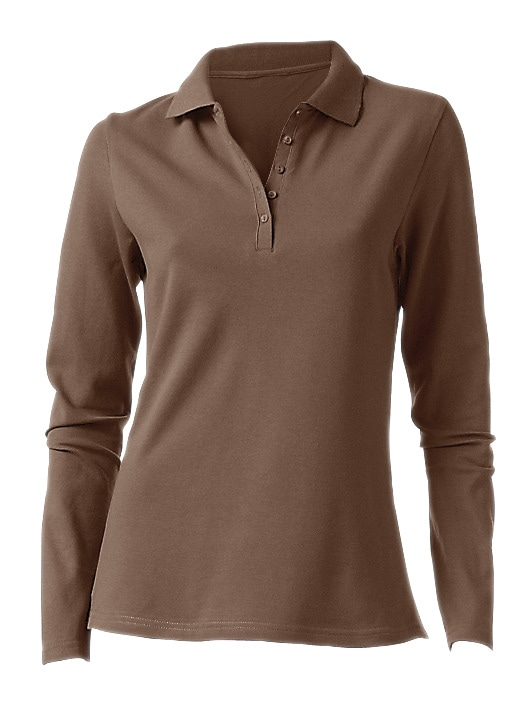 heine CASUAL Poloshirt Langarm | Bekleidung > Shirts > Poloshirts | heine