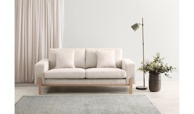 OTTO products 2-Sitzer »Hanne«, Bezug aus natürlichen Materialien: Baumwolle und Leinen kaufen