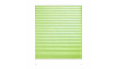 Good Life Dachfensterplissee nach Maß »Dena Crushed«, Lichtschutz, mit Bohren, verspannt, Crushed-Optik, Schienenfarbe in weiß kaufen