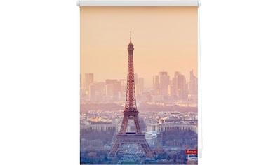LICHTBLICK Seitenzugrollo »Klemmfix Motiv Eiffelturm«, Lichtschutz, ohne Bohren, freihängend, bedruckt kaufen