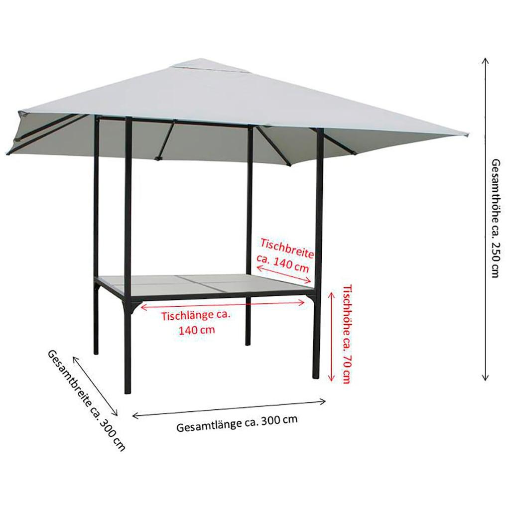 Leco Pavillon, BxT: 300x300 cm