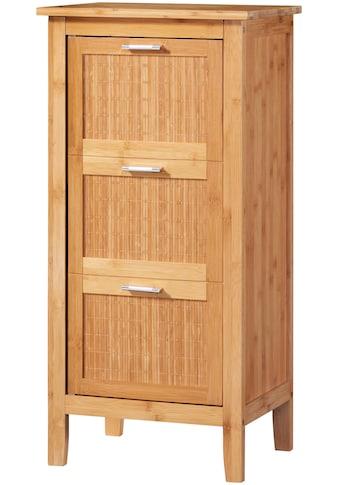 WELLTIME Badunterschrank »Bambus«, Badschrank 40 cm Breite kaufen