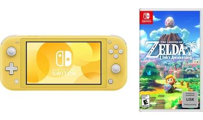 Nintendo Switch Konsole »Lite«, inkl. The Legend of Zelda: Link's Awakening kaufen