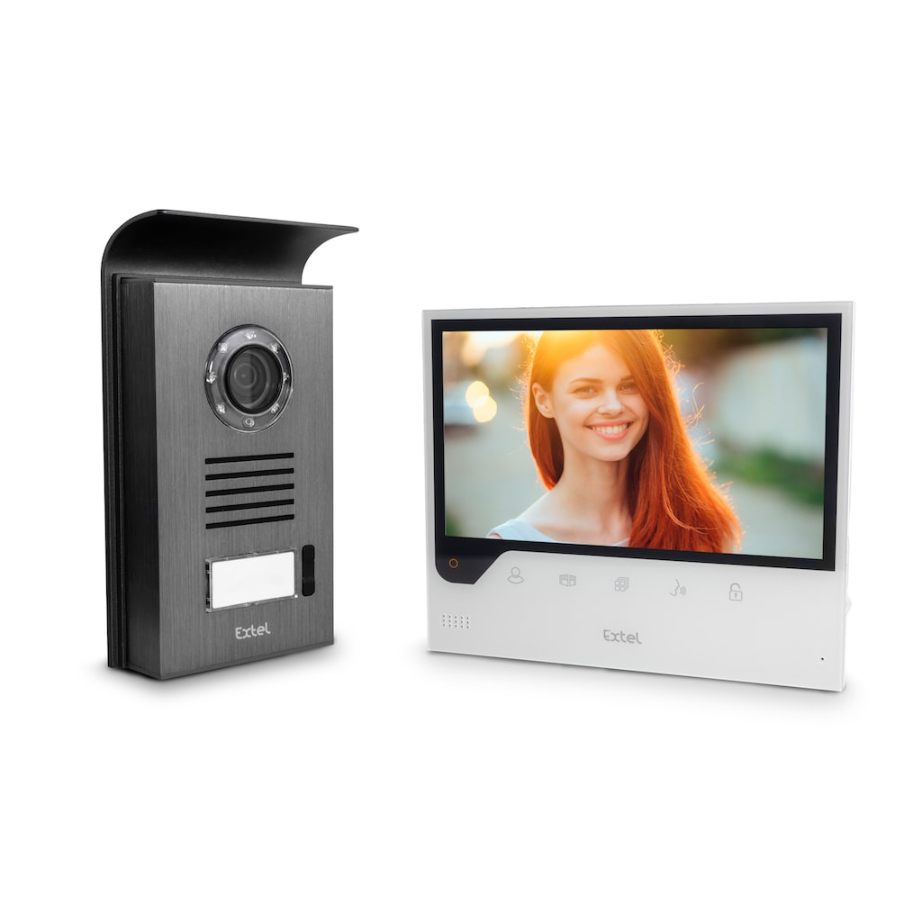 Extel Videosprechanlage, incl. Smartphone Anbindung
