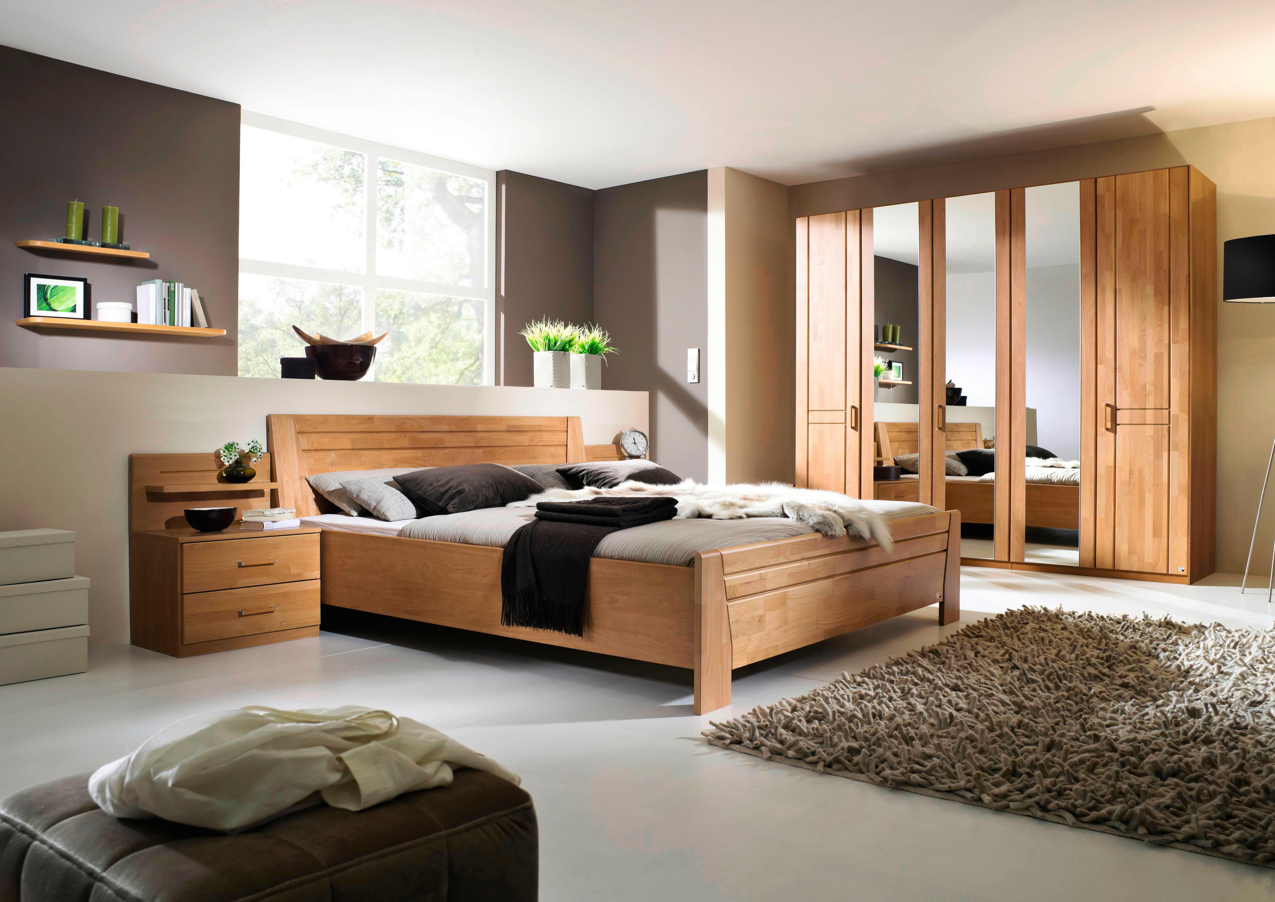 gruen-massivholz Komplett-Schlafzimmer online kaufen | Möbel ...