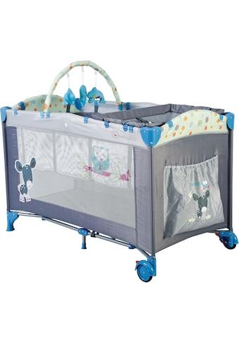 BabyGo Baby-Reisebett »Sleepwell, blau«, mit abnehmbarem Spielbogen kaufen
