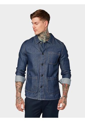 TOM TAILOR Denim Jeanshemd »Jeanshemd mit Taschen« kaufen