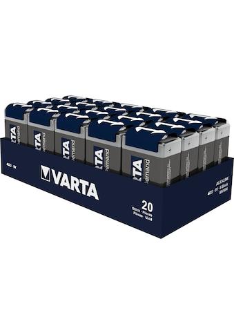 VARTA Batterie »POWER ON DEMAND 9V TRAY 20«, 9 V kaufen