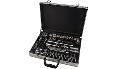 WGB BASIC PLUS Steckschlüsselsatz 70 - tlg. Steckschlüssel - Garnitur, im Aluminiumkoffer kaufen
