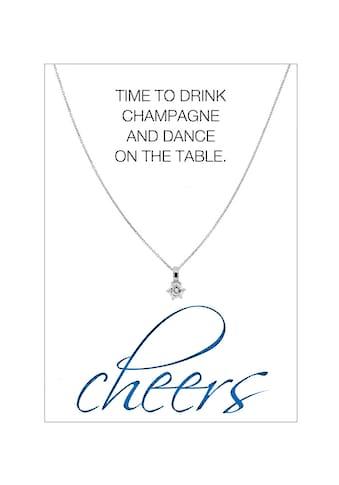 HERZ - KARTE Silberkette »cheers« kaufen