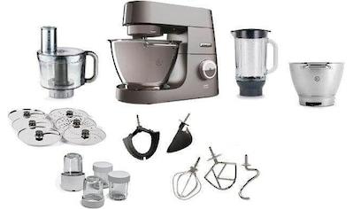KENWOOD Küchenmaschine Chef Titanium KVC7411S, 1500 Watt, Schüssel 4,6 Liter kaufen