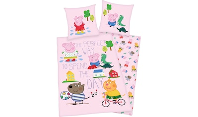 Peppa Pig Kinderbettwäsche »Peppa Pig«, mit tollem Peppa Pig Motiv kaufen