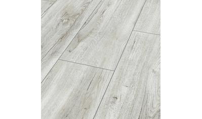 Bodenmeister Laminat »Dielenoptik Eiche weiß creme«, Landhausdiele 1380 x 244 mm,... kaufen