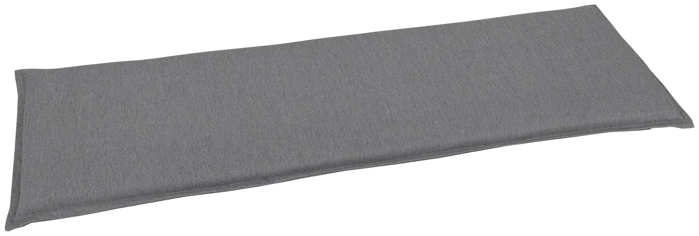 GO-DE Bankauflage, 3 Sitzer grau Bankauflagen Gartenmöbel-Auflagen Gartenmöbel Gartendeko Bankauflage