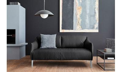 W.SCHILLIG 2,5-Sitzer »sally«, mit Metall-Winkelfüßen in Silber matt, Breite 174 cm kaufen