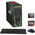 Hyrican »Military Gaming 6525« Gaming-PC (AMD, Ryzen 3, GTX 1650 SUPER, Luftkühlung)