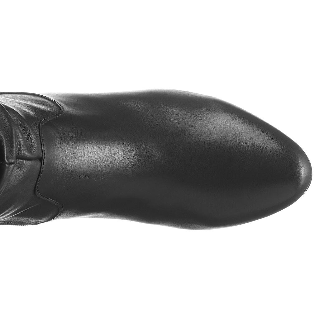 Gabor Stiefel, mit Falten am Schaft
