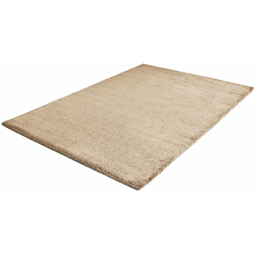 Hochflor-Teppich, »Silky Touch«, Sanat, rechteckig, Höhe 30 mm, maschinell gewebt