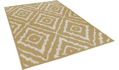 TOM TAILOR Teppich »Garden Pattern«, rechteckig, 3 mm Höhe, Flachgewebe, modernes... kaufen