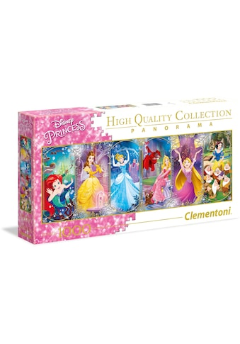 Clementoni® Puzzle »Panorama High Quality Collection - Disney Princess«, Made in Europe kaufen