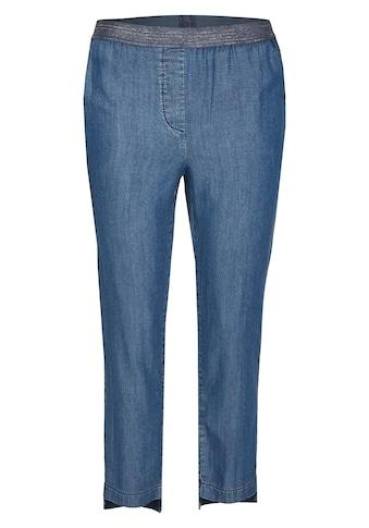 Thomas Rabe Hose mit elastischem Bund in Jeans-Optik kaufen