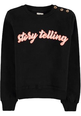 Garcia Sweatshirt »story telling« kaufen