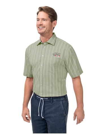 Marco Donati Kurzarm - Hemd im sommerlichen Streifen - Muster kaufen