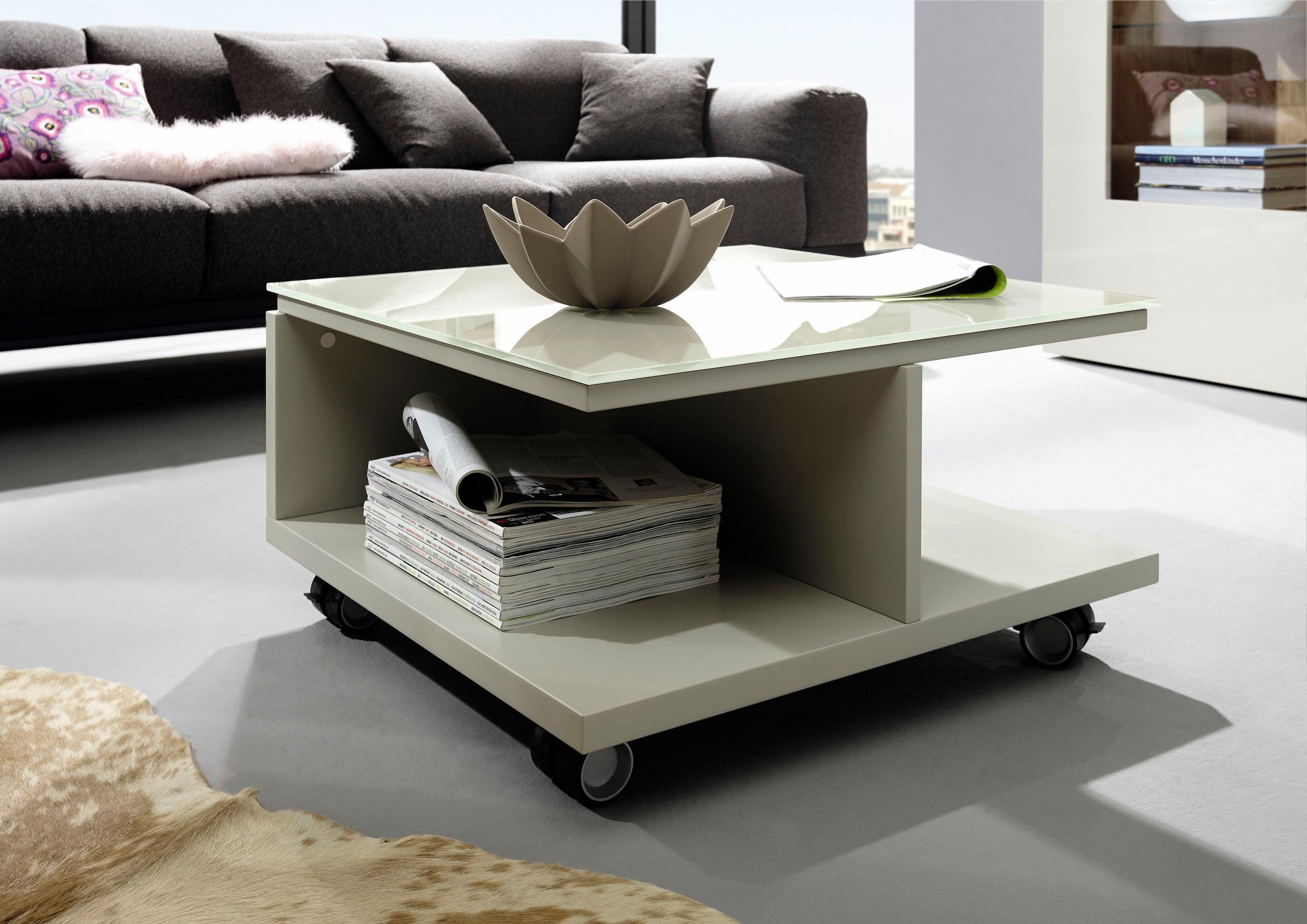now by h lsta couchtisch ct 18 mit rollen und glasplatte cafe konrad vib. Black Bedroom Furniture Sets. Home Design Ideas