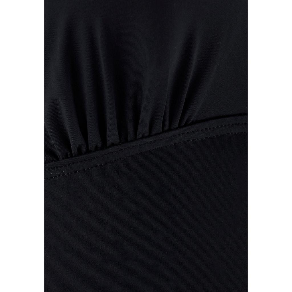 LASCANA Bügel-Tankini-Top »Camilla«, mit Farbkontrast