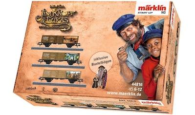 Märklin Güterwagen »Märklin Start up - PingPong, Prinzessin LiSi, Herr TurTur- Jim Knopf© - 44816« kaufen