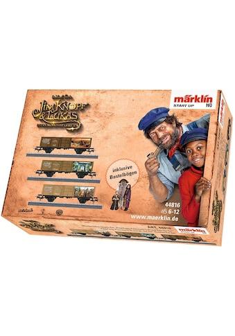 """Märklin Güterwagen """"Märklin Start up  -  PingPong, Prinzessin LiSi, Herr TurTur -  Jim Knopf©  -  44816"""", Spur H0 kaufen"""