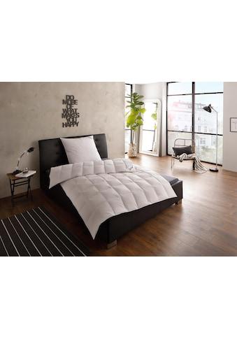 Gänsedaunenbettdecke + Kopfkissen, »Franziska«, fjödur, (Spar - Set) kaufen