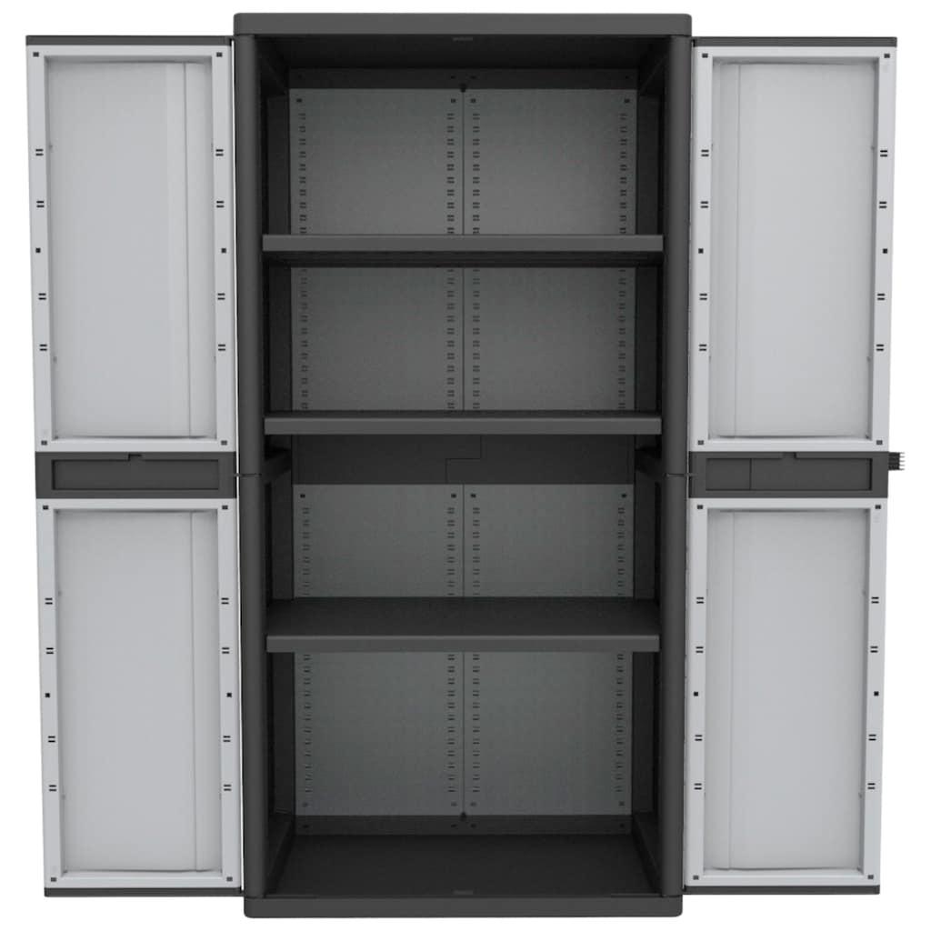 Kreher Stauraumschrank »XL Jumbo«, B/T/H: 89,7x53,7x180 cm, abschließbar, mit 3 Böden