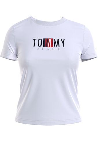 Tommy Jeans Rundhalsshirt »TJW REGULAR TIMELESS BOX TEE«, mit gesticktem Tommy Jeans... kaufen