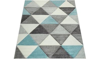Paco Home Teppich »Lara 276«, rechteckig, 18 mm Höhe, Kurzflor mit buntem... kaufen