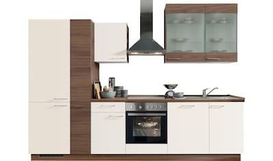 Express Küchen Küchenzeile »Trea«, mit E - Geräten, Breite 310 cm kaufen