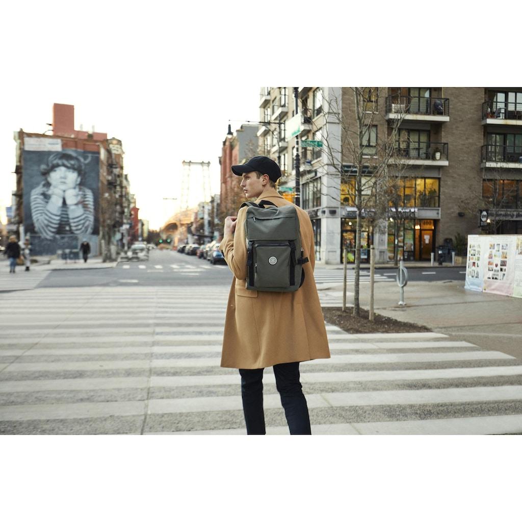 KIPLING Laptoprucksack »Yantis, Cool Moos«