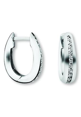 ONE ELEMENT Paar Ohrhänger »Orhringe / Creolen aus 925 Silber Zirkonia« kaufen