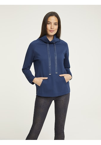 Sweatshirt mit Samtband kaufen