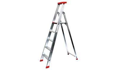 SZ METALL Stehleiter, Aluminium, 3,25 m, 5-stufig kaufen