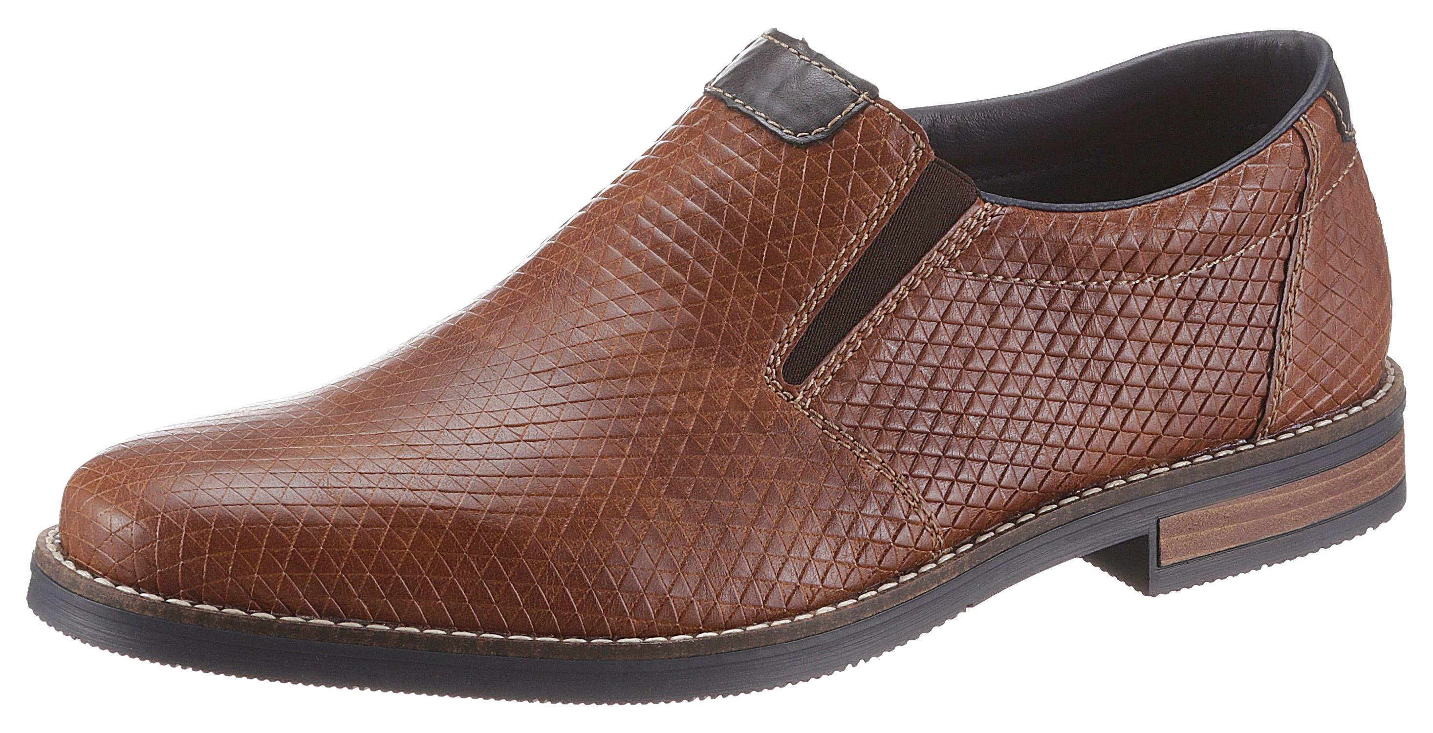 Rieker Slipper, mit moderner Prägung braun Herren Slipper Sneaker