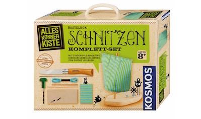 """Kosmos Kreativset """"AllesKönnerKiste Schnitzen Komplett Set"""" (Set) kaufen"""